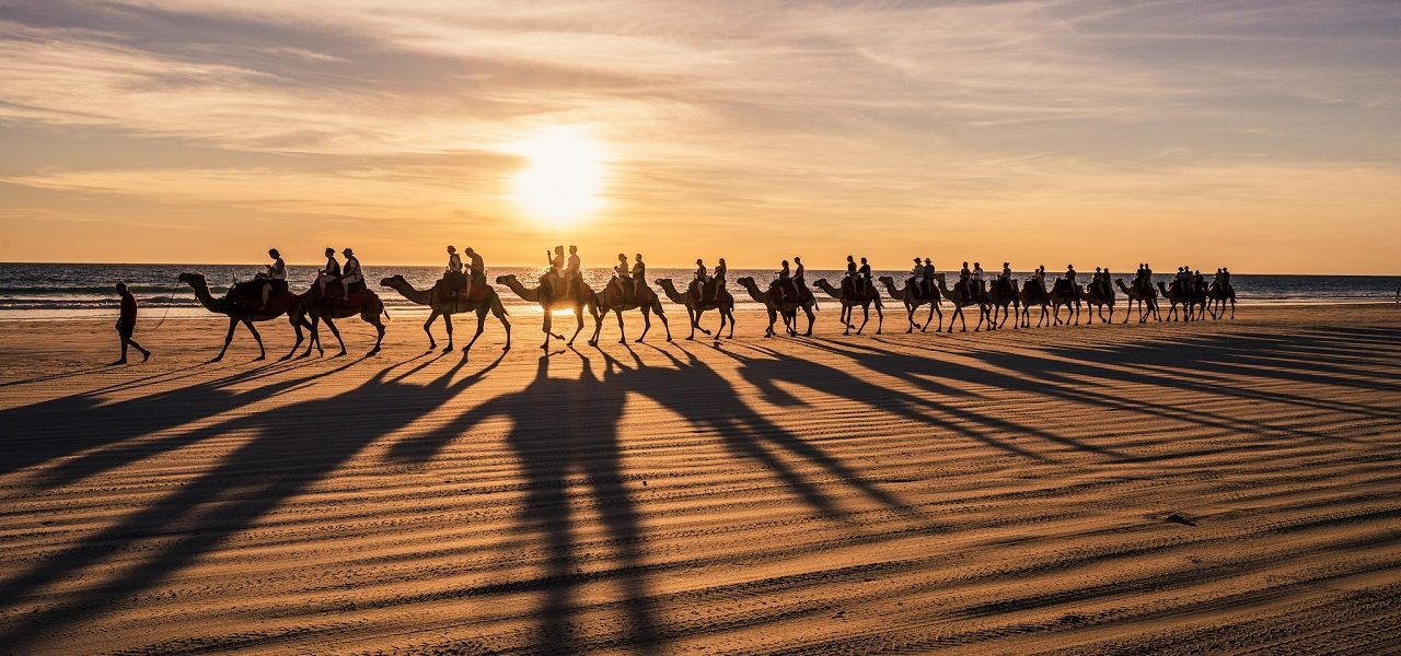take-in-broomes-gorgeous-sunsets-with-a-camel-ride-along-cable-beach